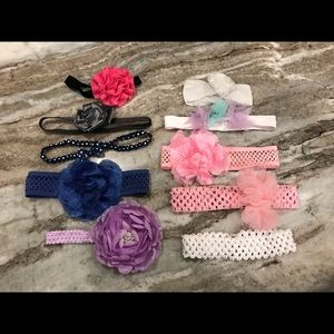 Other - Lot of baby/toddler head bands.